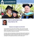 Leadership Department Newsletter - September 2013