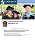 Leadership Department Newsletter - October 2013