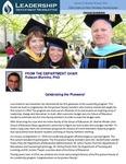 Leadership Department Newsletter - April 2014