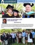Leadership Department Newsletter - August 2014