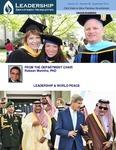 Leadership Department Newsletter - September 2014
