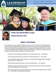 Leadership Department Newsletter - December 2013 by Andrews University