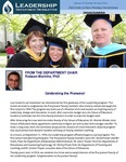 Leadership Department Newsletter - April 2014