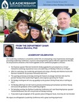 Leadership Department Newsletter - June 2014