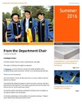 Leadership Department Newsletter: June-September 2016 by Andrews University