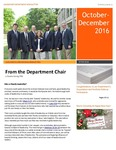 Leadership Department Newsletter: October-December 2016 by Andrews University