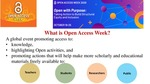 What is Open Access Week?