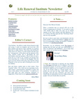 2007 June-Newsletter