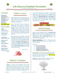 2007 November-Newsletter by Nancy Rockey