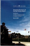Executive Summary of the Self-Study Report, March 2009