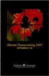 Alumni Homecoming 2007
