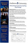 Graduate Studies Poster: Educational and Counseling Psychology