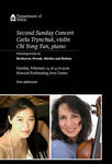 Second Sunday Concert - Carla Trynchuk and Chi Yong Yun by Department of Music