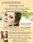 Violin Master Class - Rachel Barton Pine by Department of Music