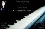Faculty Recital - Chi Yong Yun by Department of Music