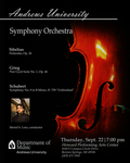 Fall Concert - Symphony Orchestra by Department of Music