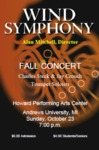 Wind Symphony Fall Concert by Department of Music