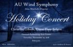 AU Wind Symphony Holiday Concert