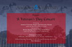 A Veteran's Day Concert by Department of Music