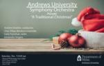 """A traditional Christmas"" AU Symphony Orchestra"
