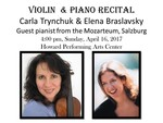 Violin and Piano Recital