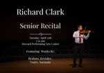 Degree Recital - Richard Clark