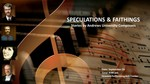 "Sunday Music Series- ""Speculations & Faithings"""