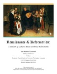 Renaissance & Reformation by Department of Music
