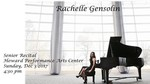 Rachelle Gensolin-Senior Piano Recital