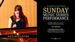 Sunday Music Series - Kate Boyd, Piano Recital