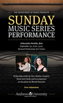 Sunday Music Series - Aleksandra Kemble by Department of Music
