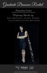 Graduate Bassoon Recital - Alexandra Castro by Department of Music