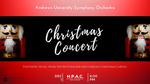 Andrews University Symphony Orchestra Christmas Concert by Department of Music
