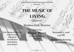 The Music of Living by Department of Music