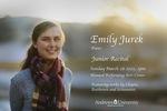 Degree Recital: Emily Jurek