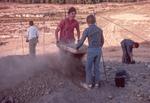 Jason And Colleague Screening Dirt-Field D