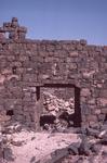 Umm El Jamal-Corbelled Lintel Doorway by Larry Mitchel