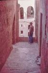 Large Desert Castle-Overlooking Interior Courtyard