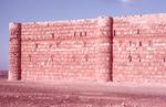 Large Desert Castle-Exterior Defensive Wall-Sunlit
