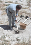 End Of Dig-Celeb Tour-Prince Ra'ad bin Zeid Digging by Larry Mitchel