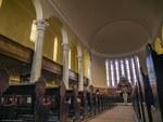 Interior Waldensian Church in Torre Pellice
