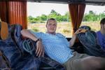Tour Bus for Waldensian Tour