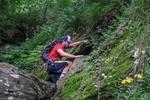 Hiking Off-trail Near Balziglia