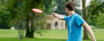 Frisbee by Andrews University